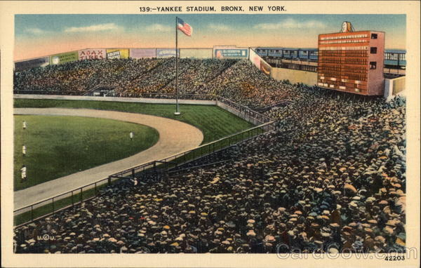 Yankee Stadium Bronx New York Baseball