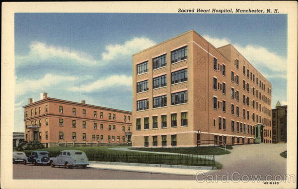 Street View of Sacred Heart Hospital Manchester New Hampshire