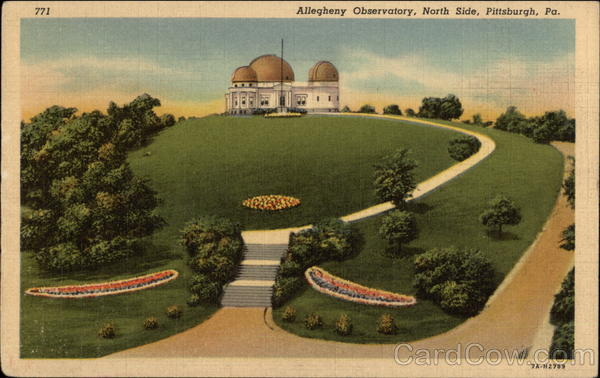 Allegheny Observatory, North Side Pittsburgh Pennsylvania