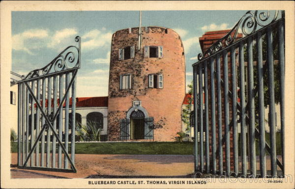 Bluebeard Castle St. Thomas Virgin Islands Caribbean Islands