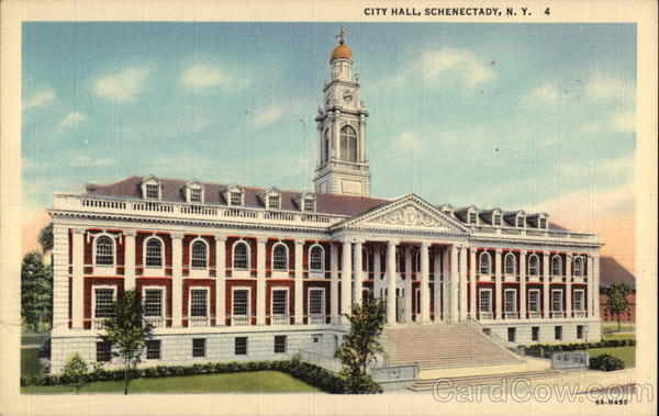 City Hall Schenectady New York