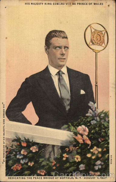 King Edward VIII Buffalo New York