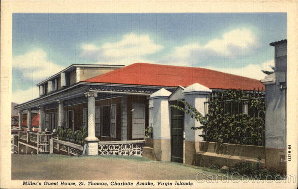 Miller's Guest House, Charlotte Amalie St. Thomas Virgin Islands