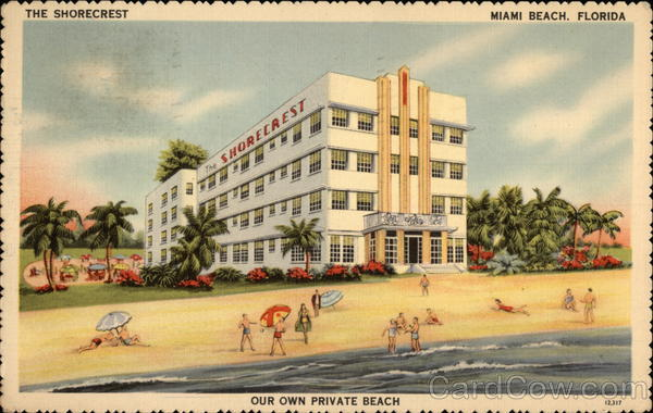 The Shorecrest Hotel Miami Beach Fl