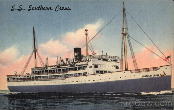 S. S. Southern Cross Cruise Ships
