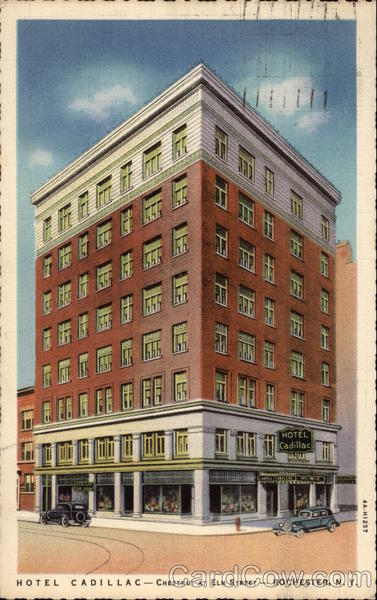 Hotel Cadillac Rochester New York
