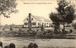 Residence of S. F. Langdell