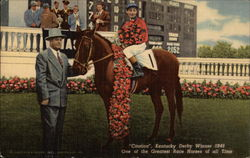 """Citation"", Kentuck Derby Winner 1948 - One of the Greatest Race Horses of All Time"