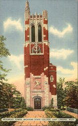 Beaumont Tower at Michigan State College