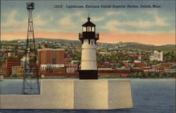 Lighthouse, Entrance Duluth-Superior Harbor