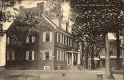 Salem County Office Building Postcard