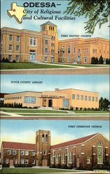 City of Religious and Cultural Facilities Postcard