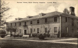 Nurses Home, State Charity Hospital