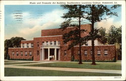 Music and Dramatic Art Building, Southeastern Louisiana College