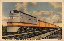The Hiawatha, Chicago, Milwaukee, St. Paul & Pacific Railroad