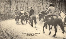 """On the Trail"" at Ro-Lyn Lake Ranch"