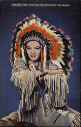Princess Pale Moon of the Choctaws, Oklahoma