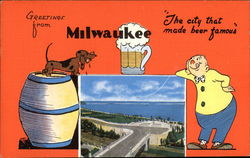 Greetings from Milwaukee, The City that Made Beer Famous