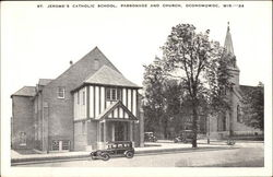 St. Jerome's Catholic School, Parsonage and Church