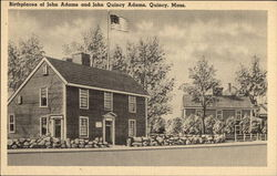 Birthplaces of John Adams and John Quincy Adams