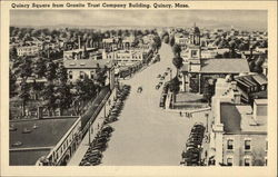Quincy Square from Granite Trust Company Building