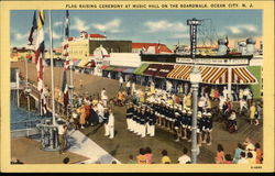 Flag Raising Ceremony at Music Hall on the Boardwalk
