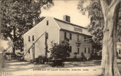 Birthplace of Count Rumford