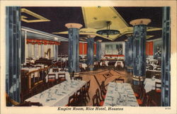 Empire Room, Rice hotel