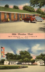 100TH Meridian Motel, 2300 W. Chestnut St., On U.S. Highway 50