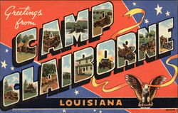 Greetings from Camp Claiborne, Louisiana