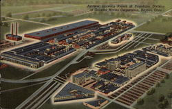 Airview Showing Plants of Frigidaire Division of General Motors Corporation