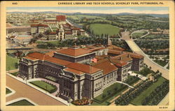 Carnegie Library and Tech Schools, Schenley Park