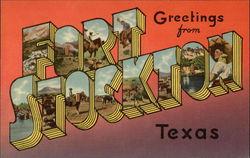Greetings from Fort Stockton, Texas