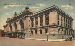 New York Central R. R. Station