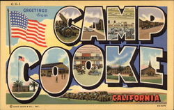 Greetings from Camp Cooke, California