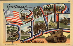 Greetings from Camp Beale, California
