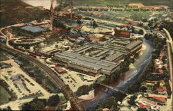Aerial View of the Plant of the West Virginia Pulp & Paper Company