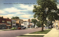Wyoming Avenue - Business District