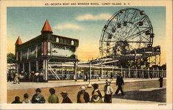 Scoota Boat and Wonder Wheel