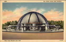 The United States Steel Building - New York World's Fair 1939