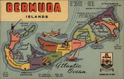 Bermuda Islands Postcard