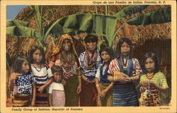 Family Group of Indians, Republic of Panama