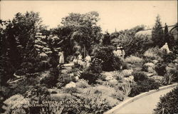 View of the Garden, St. Anthony's Shrine, Oceanside