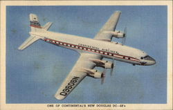 One of Continental's New Douglas DC-6B's