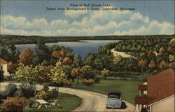 View of Bull Shoals Lake, Taken from Montgomery's Court