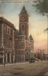 Ozark Theatre, Court House, and Jail