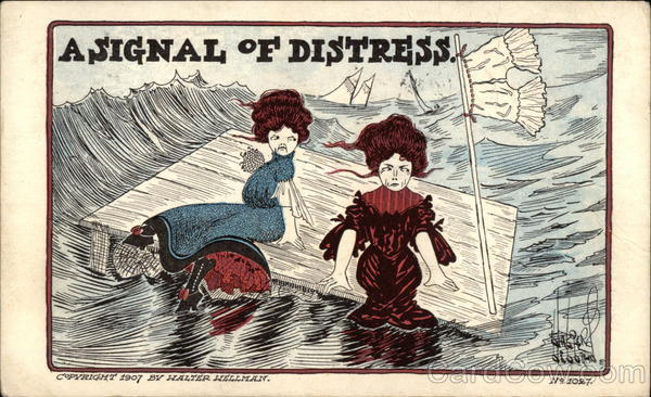 A Signal of Distress Comic, Funny
