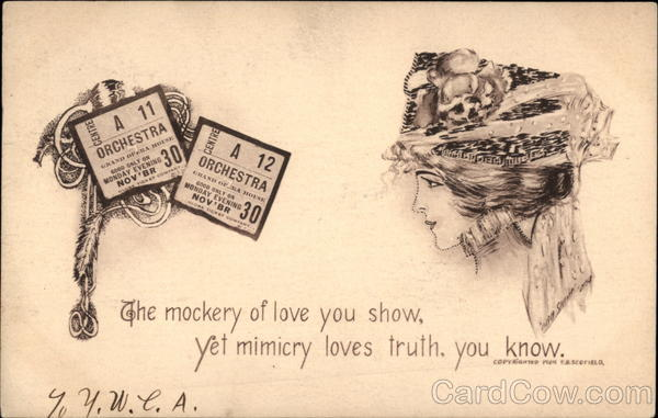 The Mockery of Love you Show, Yet Mimicry Loves Truth, you Know