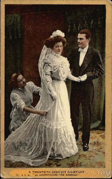 A Twentieth Century Courtship - An Understanding - The Marriage