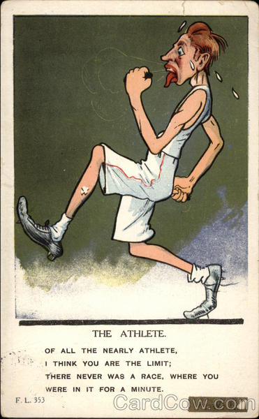 The Athlete Caricatures